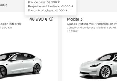 Model 3 LR 2000€ de remise